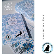 set of cat charity postcards x 10