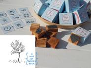olive wood stamp