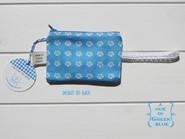 back of cotton twill purse