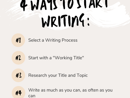 Write Now; it's the Right Time!
