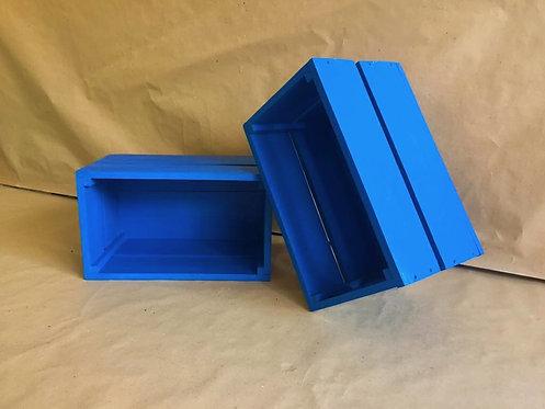 Caixotes em Azul Royal