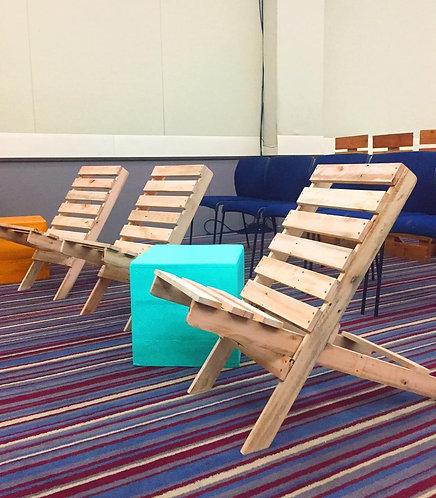Cadeira de Praia Crua