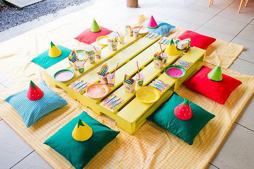 Pallet Tradicional Amarelo