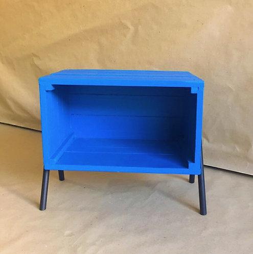 Caixote Criado Azul