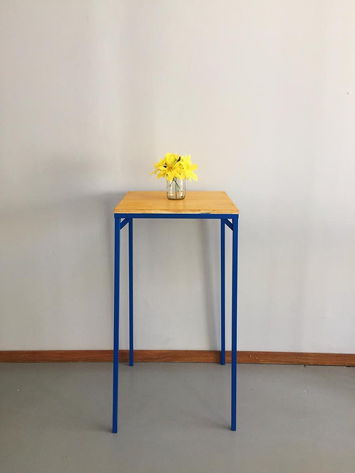 Mesa Bistrô Industrial Azul Royal