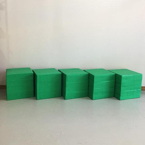 Banco Cubo Verde
