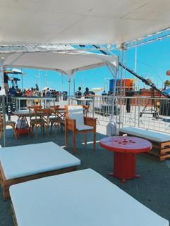 Lounge para Red Bull