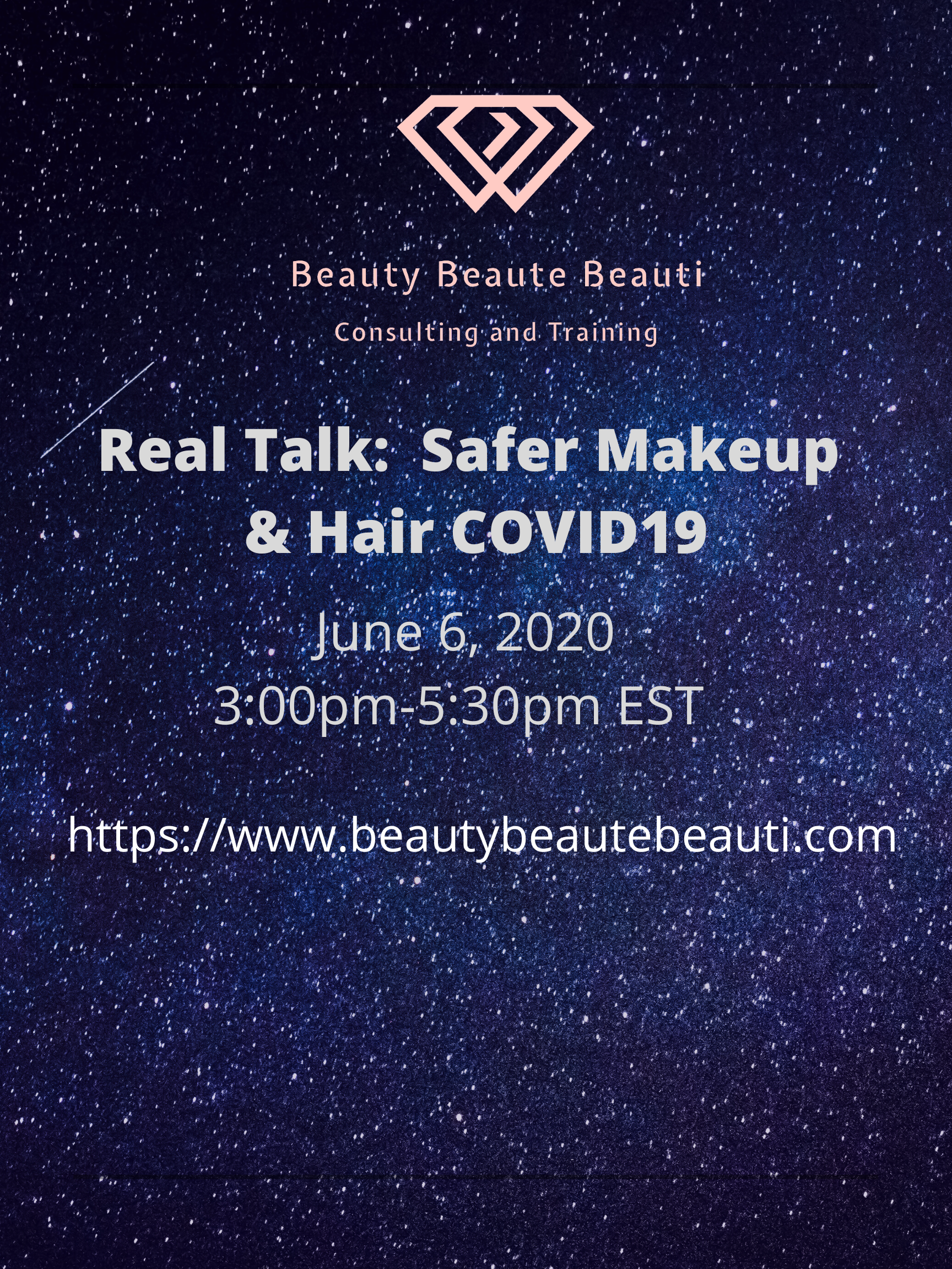 Safer Makeup/Hair COVID19