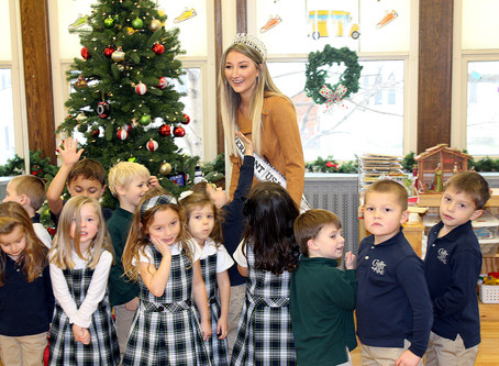 MSJ alumna and Miss Vermont USA 2019 visits CKS students