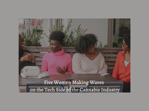 Women Making Waves On The Tech Side Of The Cannabis Industry