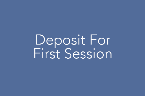 Non-refundable $50 deposit for first session
