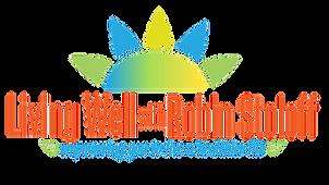 Living Well long logo transparent bkgrd.