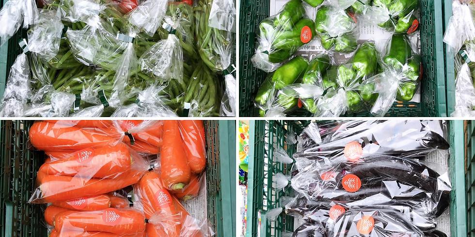 森田農園さんお野菜販売会