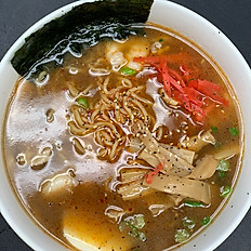 Miso or Spicy Miso Ramen