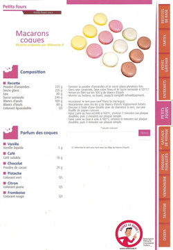 macarons coques