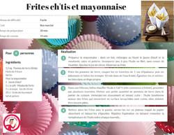 Frites Ch tis et mayonnaise