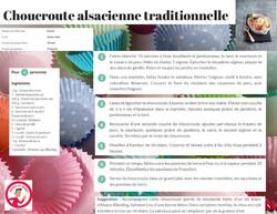 choucroute alsacienne traditionnelle
