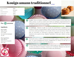 Kouign amann traditionnel (bretagne)