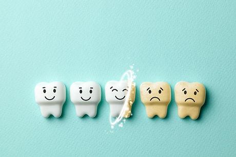 Teeth whitening. Healthy white teeth are