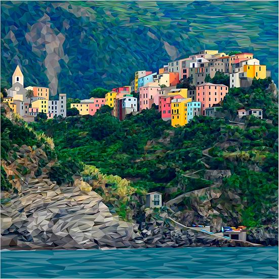 Corniglia, Cinque Terre - Andy Walker
