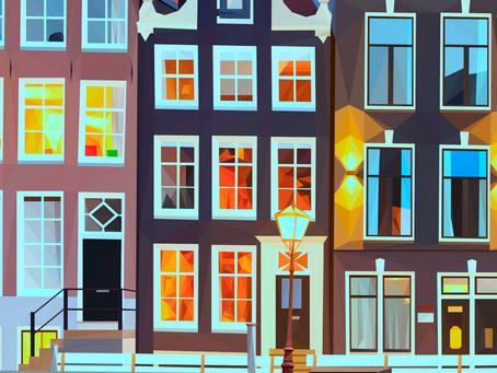 """""""Singel, Amsterdam"""" - In progress"""