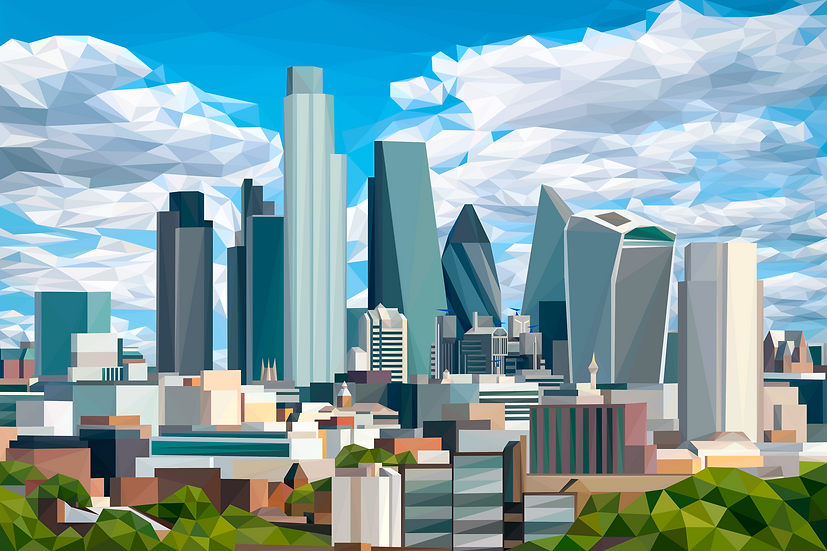 City of London - Andy Walker Digital Artist