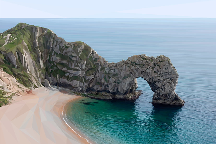 Durdle Door, Dorset - Andy Walker Digital Artist