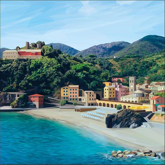 Monterosso Al Mare, Cinque Terre - Andy Walker