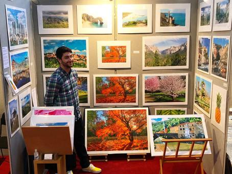 Autumn Art Fair in Teddington, Middlesex