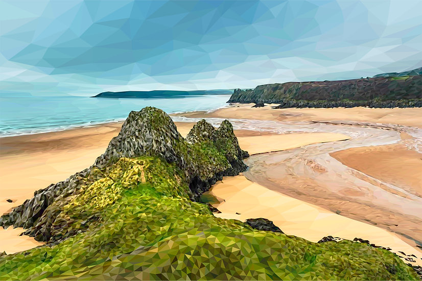 Three Cliffs Bay, Gower - Andy Walker