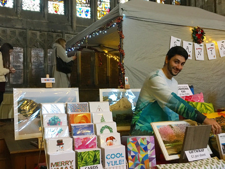 Gloucester Cathedral Christmas Fair