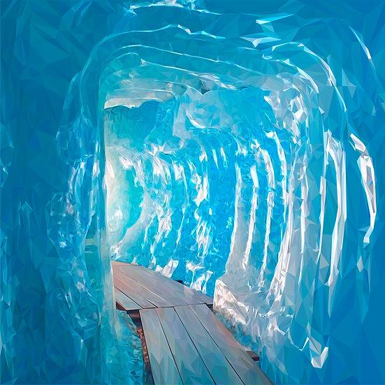 Rhône Glacier, Interior - Andy Walker