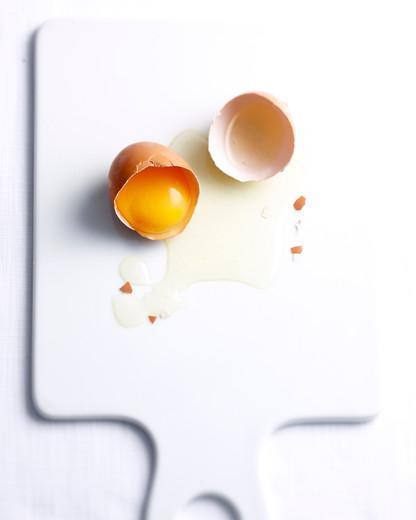 Visible egg white