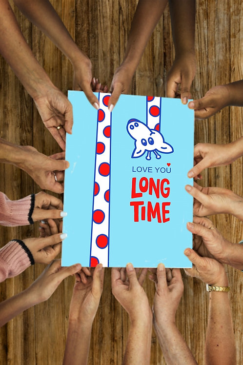 Love You Long Time (blue)