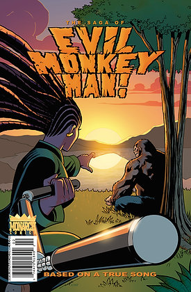 The Saga of Evil Monkey Man! #2