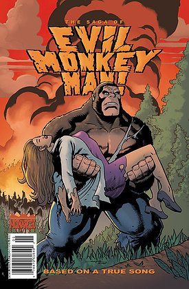 The Saga of Evil Monkey Man! #1