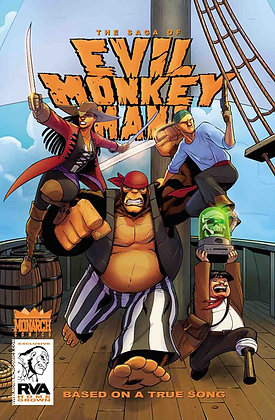 The Saga of Evil Monkey Man! #4