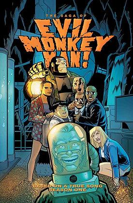 The Saga of Evil Monkey Man! Trade