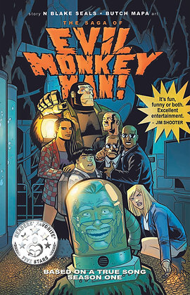 The Saga of Evil Monkey Man! Deluxe Limited Trade