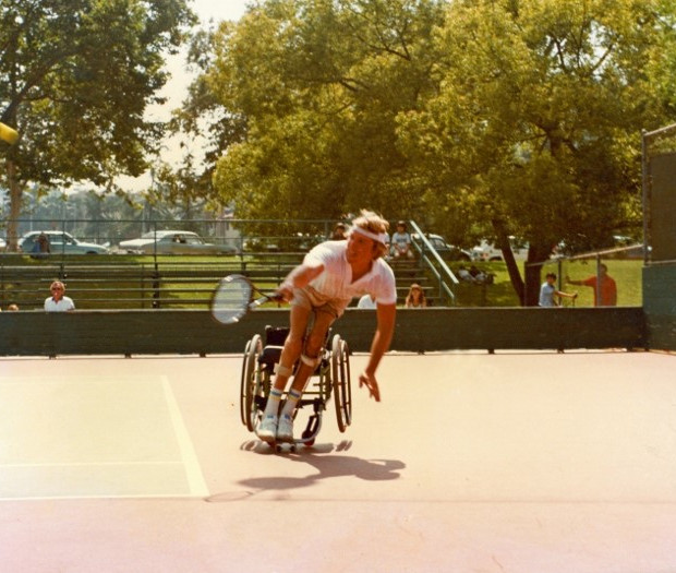 First Wheelchair Tennis Tournament Griffith Park, Los Angeles