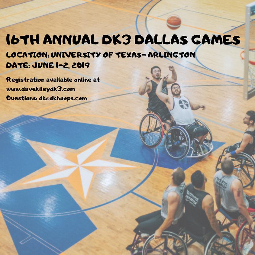 16th Annual Dallas DK3 Invitational 3x3 Wheelchair Basketball