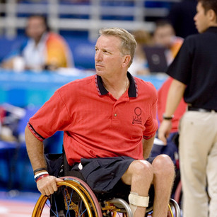Coaching Paralympic Games, Athens, Greece 2004