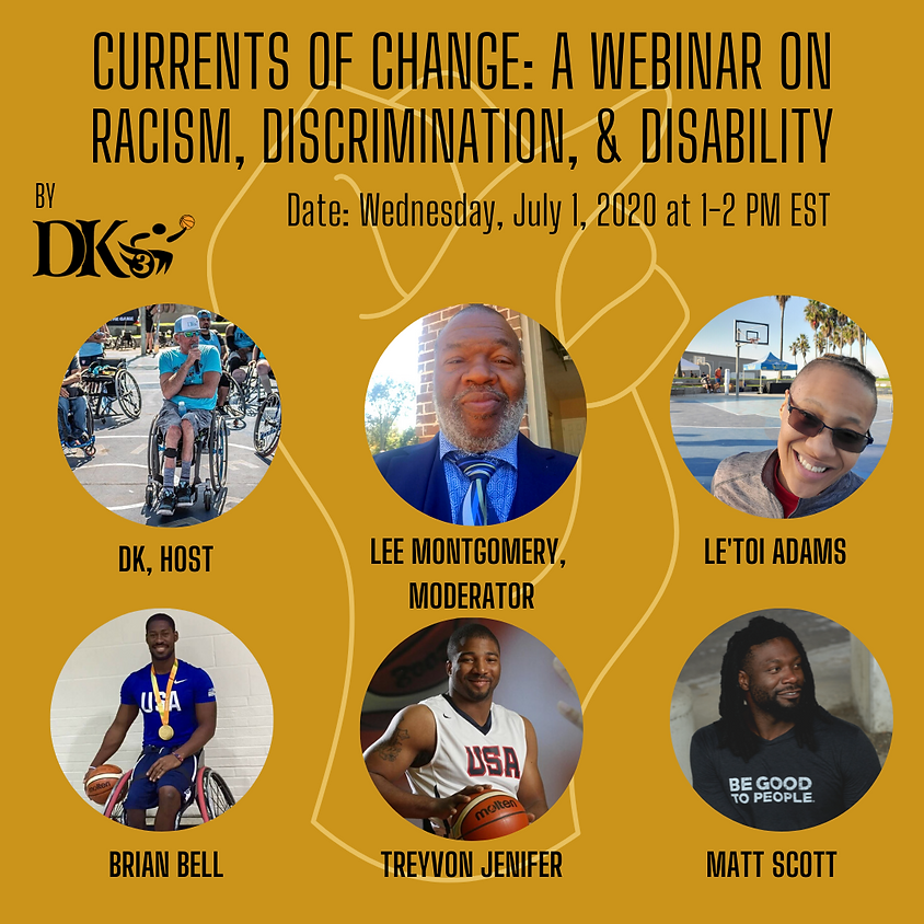 Currents of Change: A Webinar on Racism, Discrimination, & Disability