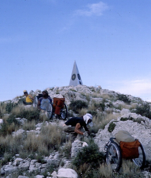 Climbed the tallest mountain in Texas, 1982, Mt. Guadalupe