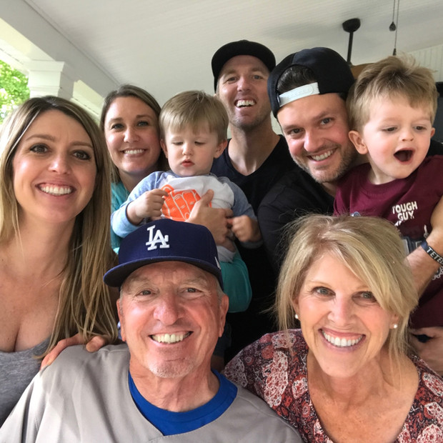 DK with his family and grandkids