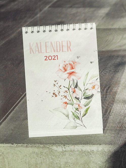 "Tischkalender ""rosa"" 2021"