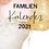 Thumbnail: Wandkalender Familie A3 2021