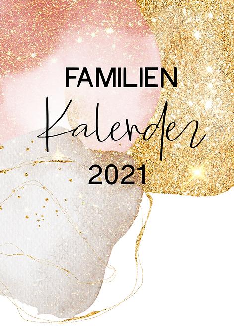 Wandkalender Familie A3 2021