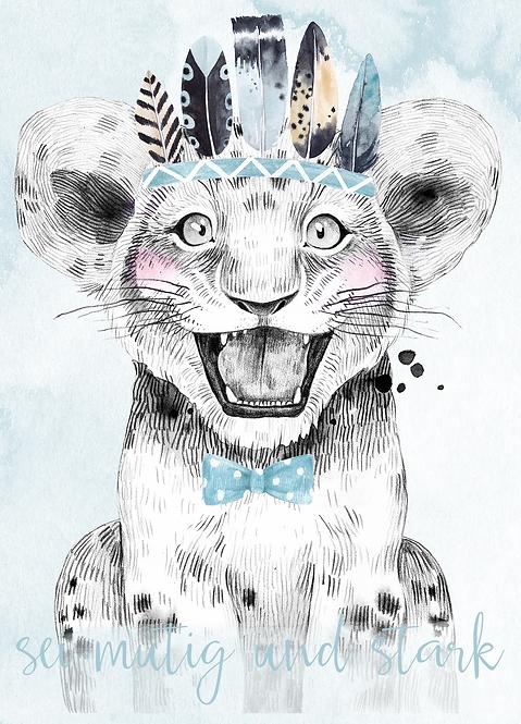"""Postkarte """"Safari"""""""