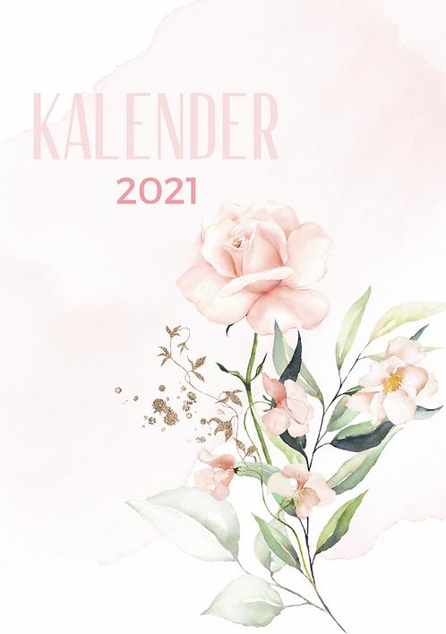 """Wandkalender """"rosa"""" 2021"""